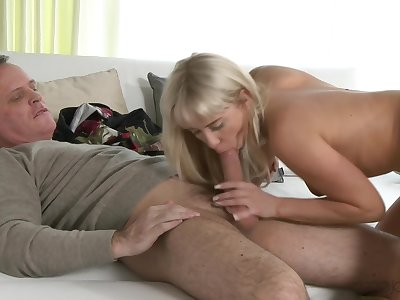 Blonde Carla Cox gets their way lady bits taken hard and long