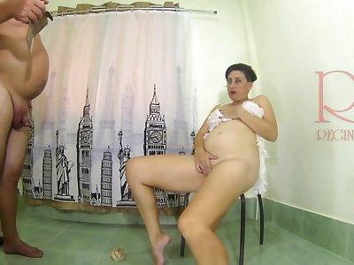 Regina Noir Posing For Full Video Double Pussy Sham Away from Regina Noir - 3