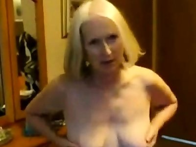 Home Video - Pale Mature coupled with her Lover