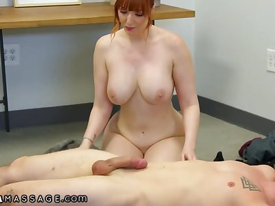 Hardcore Knead Thirsty Redhead MILF Lauren Phillips Wants Her Step-son's Dick So Bad