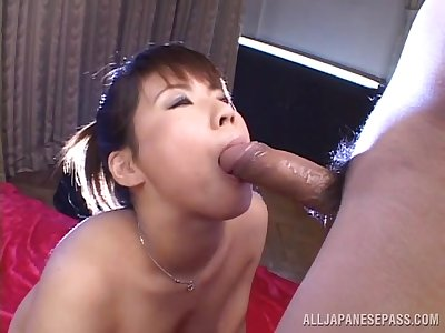 Cock sucking Japanese needs it in will not hear of bush