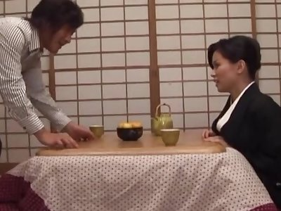 Homemade video for loved wife Miki Sato renowned a nice titjob