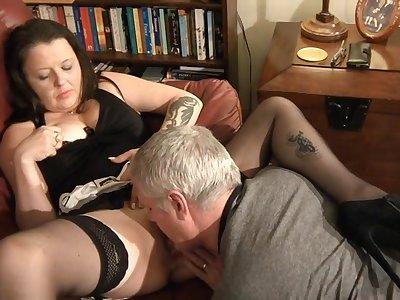 Hardcore amateur fucking at one's disposal home almost tattooed wife Pane