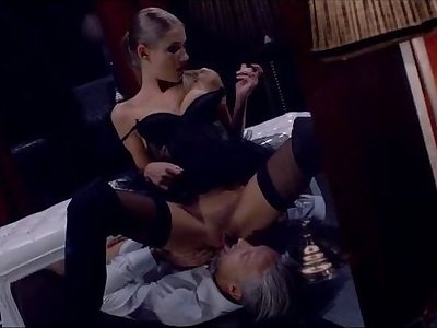 Amulet sex with a sensual blonde