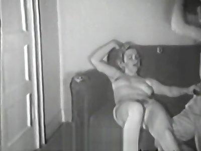 Survey Man Picks up a Chick (1950s Vintage)