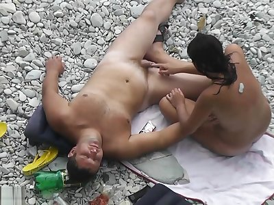 Beach Nudist Open-air Fun