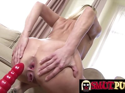Smut Puppet - Matures Riding Toys Anally Compilation Part 5