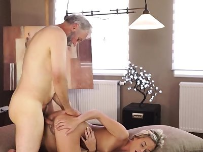 Granny aged fingering hairy plus mature vs young xxx Sexual