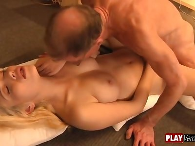 Immersed Boyfriend Tiffany Foxx old and young hardcore action